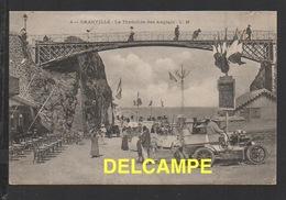 DD / 50 MANCHE / GRANVILLE / LA TRANCHÉE DES ANGLAIS / VOITURE ANCIENNE / ANIMÉE / CIRCULÉE EN 1908 - Granville