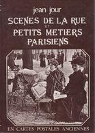 LIVRE DE CARTES POSTALES ANCIENNES - Scènes De La Rue Et Petits Métiers Parisiens - .. - Ile-de-France