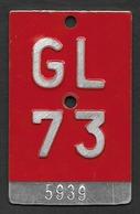 Velonummer Glarus GL 73 - Plaques D'immatriculation