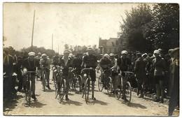 """A2 Cyclisme Départ D""""une Course Lieux A Déterminer - Cycling"""