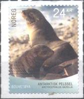 Mint  Stamp Antarctic  Fauna, Seal  2018  From Norway - Otros