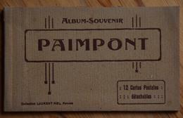 35 : Paimpont - Carnet Incomplet : 9 CPA - Ed. Laurent-Nel - Forêt - Etang De Comper - Val Sans Retour ... - Paimpont