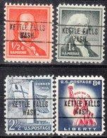 USA Precancel Vorausentwertung Preo, Locals Washington, Kettle Falls 748, 4 Diff. - Vereinigte Staaten