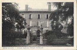 Nérac (Lot-et-Garonne) - L'Ecole Supérieure Primaire De Garçons - Edition Combier - Carte CIM Non Circulée - Schools