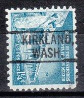 USA Precancel Vorausentwertung Preo, Locals Washington, Kirkland 802 - Vereinigte Staaten