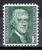 USA Precancel Vorausentwertung Preo, Locals Washington, Kittitas 841 - Vereinigte Staaten