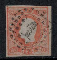 Portugal // 1866 // 80r Orange - 1862-1884 : D.Luiz I