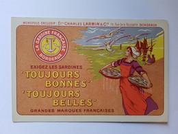 CPA PUB ETS CHARLES LARMIN BORDEAUX GIRONDE - Bordeaux
