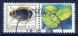 +Denmark 2003. Beetle Co-Print. Michel 1339. Cancelled - Used Stamps