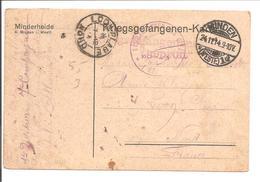 WO1 Kriegsgefangene.POW.Minden>France Loon-Plage 59 - WW1