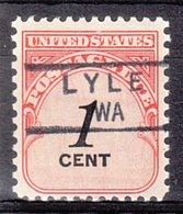 USA Precancel Vorausentwertung Preo, Locals Washington, Lyle 834,5 - Vereinigte Staaten