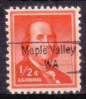 USA Precancel Vorausentwertung Preo, Locals Washington, Maple Valley 843 - Vereinigte Staaten