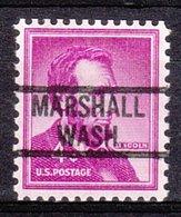 USA Precancel Vorausentwertung Preo, Locals Washington, Marshall 819 - Vereinigte Staaten