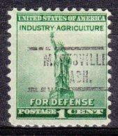 USA Precancel Vorausentwertung Preo, Locals Washington, Marysville 734 - Vereinigte Staaten