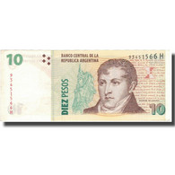 Billet, Argentine, 10 Pesos, Undated 2005, KM:354, TTB - Argentine