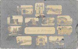 Souvenir De Villevert (Neuville-sur-Saône, Albigny, Rhône) - Multivues, Gare, Ecoles, Quais... - Edition Dussaud - Greetings From...