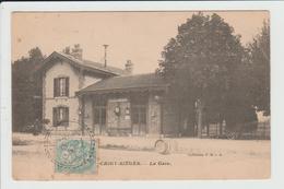 CHIGY SIEGES - YONNE - LA GARE - Francia