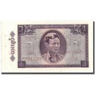 Billet, Birmanie, 1 Kyat, 1965, KM:52, TTB - Myanmar