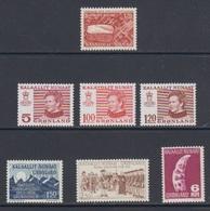 1978 **/(Sans Charn,MNH, Postfris)    Yv. 93/9    Mi. 105/11 (7v.) - Groenland