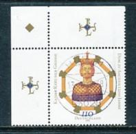 GERMANY Mi.Nr. 2088 1200 Jahre Aachener Dom  - Eckrand Oben Links - Used - Gebruikt