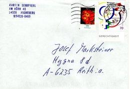 Auslands - Brief Von Briefzentrum 23 Mit 90 Cent Mischfrankatur 2018 Magnus Hirschfeld - BRD