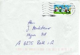 Auslands - Brief Von Briefzentrum 23 Mit 90 Cent Peanuts 2018 - BRD