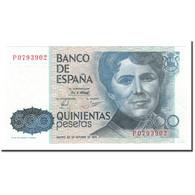 Billet, Espagne, 500 Pesetas, 1983, 1979-10-23, KM:157, SUP+ - [ 4] 1975-… : Juan Carlos I