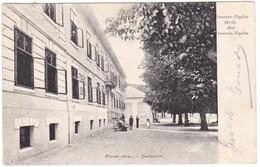 8826 Slovakia, Trencsen - Teplicz Postcard Mailed 1907: Springs Home, Animated - Slovakia