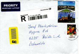 Auslands - Reko -Brief Von 04930 Gröden Groden Mit 340 Cent Schöner Mischfrankatur 2018 - BRD