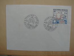 SPM/Saint Pierre Et Miquelon-Enveloppe 1er Jour FDC TRANSAT 16 Mai 1987 - Lettres & Documents