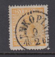 Sweden 1858 - Michel 10 Used - Oblitérés