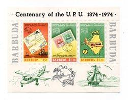 Antigua Barbuda - 1974 - Foglietto U.P.U. (Unione Postale Universale) - 3 Valori - Nuovo - Vedi Foto - (FDC12330) - Antigua E Barbuda (1981-...)