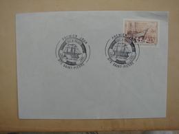 SPM/Saint Pierre Et Miquelon - Enveloppe 1er Jour CALE DE HALAGE 20 Juin 1987 - Lettres & Documents