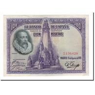 Billet, Espagne, 100 Pesetas, 1928, 1928-08-15, KM:76a, TTB - [ 1] …-1931 : First Banknotes (Banco De España)