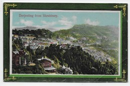 Darjeeling From The Shrubbery  - Nestor Gianaclis 381 - India