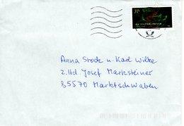 Brief Von Briefzentrum 88 Mit 70 Cent Gravitationswellen 2018 - BRD