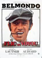 - Flic Ou Voyou - Affiche Originale De Cinéma - Jean-Paul BELMONDO 120x160 - Affiches