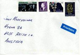 Auslands - Brief Von 5540 Ullerslev Mit 27 Kronen Mischfrankatur 2018 - Dänemark