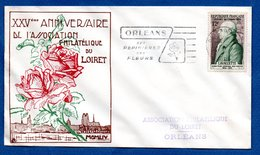 Enveloppe Premier Jour  /XXV ème Anniversaire Assoc. Philatélique Du Loiret / Lavallette - FDC