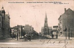 Scharbeek Avenue Louis Bertrand Vers L Eglise St Servais - Schaerbeek - Schaarbeek