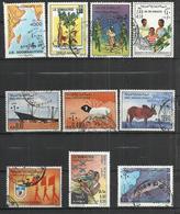 TEN AT A TIME - SOMALIA - LOT OF 10 DIFFERENT - USED OBLITERE GESTEMPELT USADO - Somalie (1960-...)