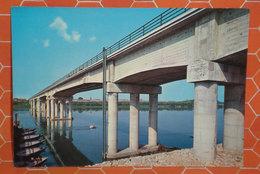 FICAROLO Ponte Sul Po  Rovigo CARTOLINA 1972 - Italia