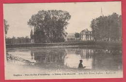 Enghien - Parc Du Duc D'Arenberg - L'Etang De La Chapelle -1905 ( Voir Verso ) - Enghien - Edingen