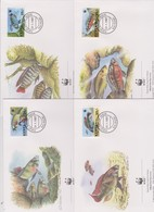 World Wide Fund For Nature 1997 Kenya Fishes,Set 4 Official First Day Covers - FDC
