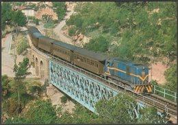 Ferrocarrils Catalan CGFC Locomotora 702 - Ferroviaries Tarjeta Postal - Trains