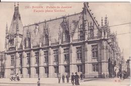 CPA - 336. ROUEN - Palais De Justice Façade Place Verdrel - Rouen