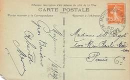 D.18-2895 : CACHET MOYEUVRE GRANDE. MOSELLE 1937 - Marcophilie (Lettres)
