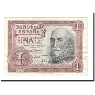 Billet, Espagne, 1 Peseta, 1953, 1953-07-22, KM:144a, TTB+ - 1-2 Pesetas