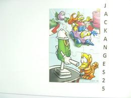 KINDER PUZZLE K03 N 108 2002  SANS OHNE WITHOUT BPZ - Puzzles