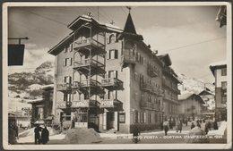 Albergo Posta, Cortina D'Ampezzo, Veneto, C.1930s - Zardini Foto Cartolina - Other Cities